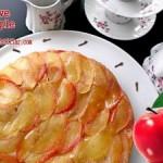 Tarçın ve Karanfilin Aşkı-Karamelli Elmalı Kek