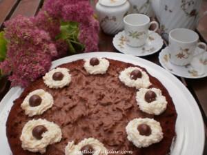 """Bayram Pastası """"Seni Seviyorum Chocolate"""""""