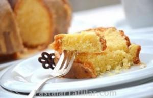 Karamel Soslu Kek