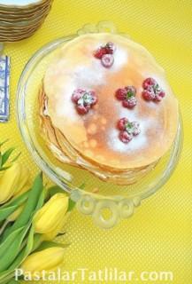 Kremalı Krep Pasta
