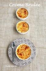 Krem Brüle / Crème Brûlée