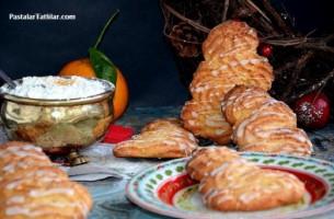 Portakallı  Kokos Kurabiye