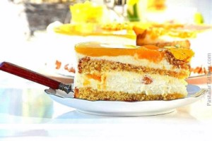Jöleli Mandalina Yaş Pasta